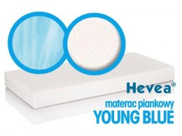 Materac piankowy Hevea Young Blue 160x70 (Natural)