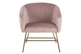 ACTONA Fotel Ramsey VIC dusty rose/gold
